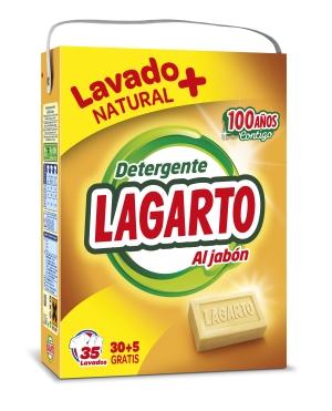 détergent LESSIVE EN POUDRE LAGARTO  35 doses