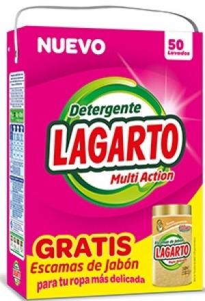 détergent LESSIVE EN POUDRE LAGARTO 50 doses