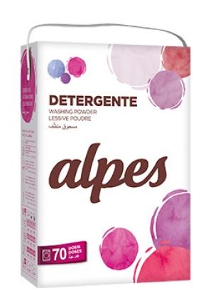 détergent LESSIVE EN POUDRE ALPES  70 doses