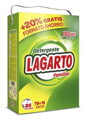 détergent LESSIVE EN POUDRE LAGARTO 85 doses