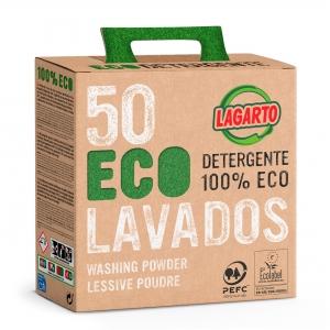 DETERGENT LESSIVE EN POUDRE LAGARTO 100% ECO
