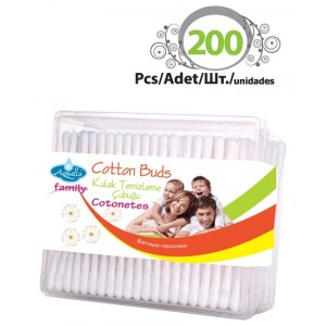 Cotons Tiges 200pcs