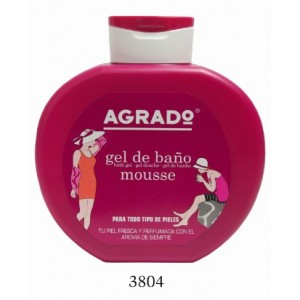 Gel Douche Mousse AGRADO 750ml