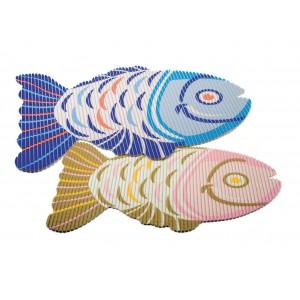 Tapis de douche poisson
