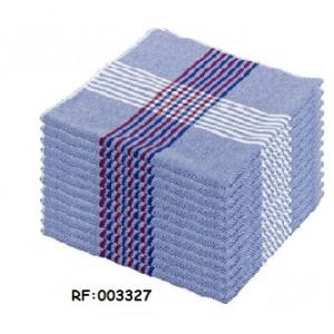 Serviette Vaisselle Bleu