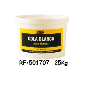COLLE BLANCHE RAPIDE 25KG